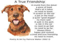 A True Friendship Poetry & Art by Patricia Walter