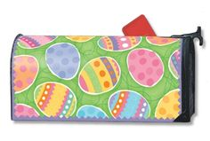 Easter Eggs Mailbox Mailwrap Cover