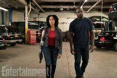 Misty Knight's New Look From #Marvel's Luke Cage Second Season #Marvel