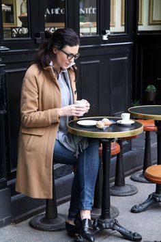 Dressing & Dining at Odette in Paris