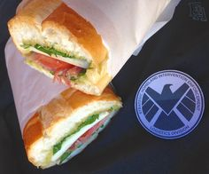 "The Fitzsandwich from ""Marvel's Agents of S.H.I.E.L.D."" #Marvel's #AgentsofShield"