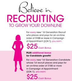 Earn even more money when you share the opportunity and have successful recruits! To start selling Avon, go to www.youravon.com/vdull