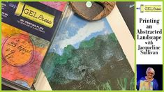 Get GEL PRESS OBSESSED! Join Working Artist, Jacqueline Sullivan as she shows you how to make a masked, abstracted landscape with Gel Press. Visit our Gel Pr. Gel Press, Gelli Plate Printing, Gelli Arts, Abstract Landscape, Make It Yourself, Artist, Journal, Prints, Colors