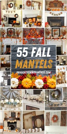 Rustic Fall Decor, Fall Mantel Decorations, Fall Home Decor, Thanksgiving Decorations, Seasonal Decor, Spider Decorations, Mantel Ideas, Decorating Ideas, Decor Ideas