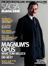 Tom Selleck on Saga Magazine