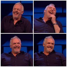 Greg Davies laughing, a compilation. I'm not obsessed you're obsessed. Greg Davies, Older Man, British Comedy, Man Crush, Funny People, Gd, Gorgeous Men, Comedians, Girlfriends