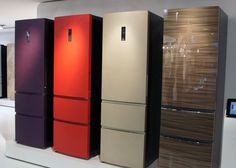 A Smooth Future for Fashionable Appliances: Glass, Glitter, and Slate Appliances, Stainless Steel Appliances, Kitchen Appliances, Glass Front Refrigerator, Kitchen And Bath Design, Nice Kitchen, Kitchen Sink, Kitchen Decor, Living In Europe
