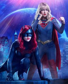 Batwoman Supergirl by on DeviantArt Supergirl Season, Supergirl Superman, Supergirl 2015, Supergirl And Flash, Marvel Comics, Arte Dc Comics, Marvel Dc, Batwoman, Batgirl