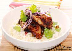 Alitas de pollo con salsa teriyaki  | Gastronomía & Cía