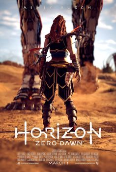 Horizon: Zero Dawn - Movie Poster Concept