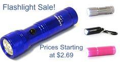 Flashlight Sale ($2.69 Plus Free Shipping) Flashlight, Coupon Codes, Sunshine, Coding, Lights, Free Shipping, Lighting, Light Fixture, Lamps