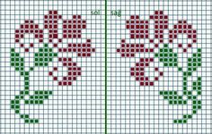 This Pin was discovered by Nec Cross Stitch Bookmarks, Cross Stitch Rose, Cross Stitch Borders, Cross Stitch Alphabet, Cross Stitch Flowers, Cross Stitching, Cross Stitch Embroidery, Cross Stitch Patterns, Knitted Mittens Pattern