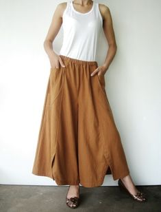 wide leg pants - love this one