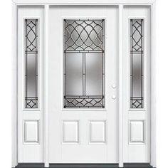 Reliabilt Sheldon 3 4 Lite Smooth Fiberglass Entry Door