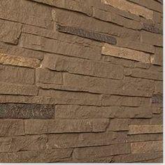 BuildDirect: Hazel Nut Siding Panels Faux Stone Panel 46 1/2