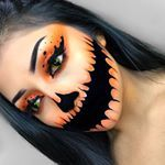 "11.1k Likes, 76 Comments - 100DaysOfMakeup (@100daysofmakeupchallenge) on Instagram: ""DAY 82  Creepy Pumpkin  By @mila__mua • • FOLLOW US:>>> @100daysofmakeupchallenge for more • USE…"""