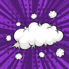Cloud bubble Vector | Free Download Art Pop, Fond Pop Art, Pop Art Girl, Background Vintage, Art Background, Vintage Backgrounds, Fiesta Pop Art, Silhouette Cameo Free, Desenho Pop Art