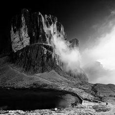 tyrolian alps by Lukas Furlan, via Behance