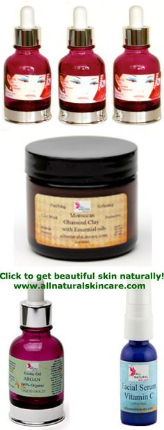 What do you get when you have: Beautiful Skin Care & Pure Mineral Makeup?  AMAZING FLAWLESS SKIN  www.allnaturalskincare.com