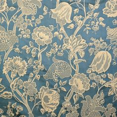 Just looking-Lee Jofa Italian Silk Damask Upholstery Fabric Sky Blue SOLD