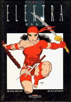 "Frank Miller ""Elektra Saga 1 of Marvel Italia, November 1996 Disney Marvel, Marvel Dc, Marvel Comics, Marvel Comic Universe, Comics Universe, Comic Book Covers, Comic Books, Comic Art, Frank Miller Art"