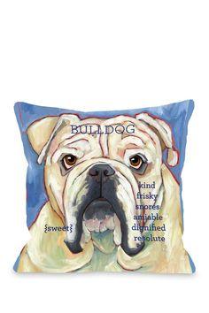 Bulldog 2 Pillow