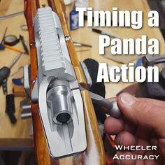 Alex Wheeler Accuracy gunsmith Panda Kelbly Stolle action timing receiver benchrest video