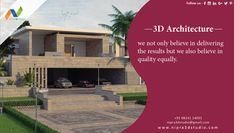 3D Architecture we not only believe in delivering the results but we also believe in quality equally.  #nipra3dstudio,#3dexterior,#3dvisulisation,#3dwalkthrough,#3darchitectural,#likeme,#followme,#3drendering,#3ddesign.