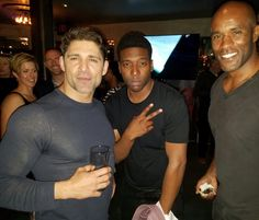 The Last Ship wrap party The Rock Dwayne Johnson, Rock Johnson, Dwayne The Rock, Bridget Regan, The Last Ship, Male Beauty, Black Is Beautiful, I Got This, Confessions