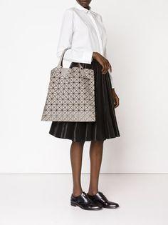 c8fab5d61505 geometric pattern tote bag Issey Miyake