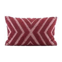 House Doctor India Kussenhoes Katoen 60 x 40 cm - Burnt Henna Geometric Cushions, Red Cushions, Decorative Cushions, Scatter Cushions, Throw Pillows, House Doctor, Plywood Furniture, Design Furniture, Red Cushion Covers