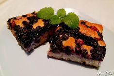 Helppo sitruunainen marjapiirakka (rasvaton ja munaton) Desserts, Food, Tailgate Desserts, Deserts, Essen, Postres, Meals, Dessert, Yemek