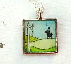 Don Quixote necklace