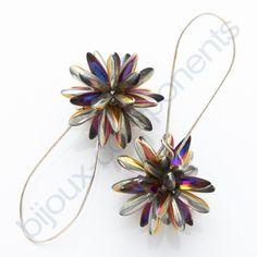 Kulička z jazýčků - Dagger beads ball from bijoux-components.cz