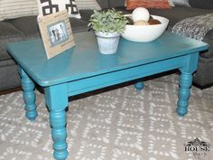 Annie sloan antique beach beach house buffet chalk Eclectic coffee table makeovers