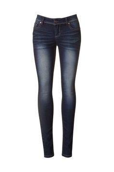 Lori Dark Denim Skinny Jeans