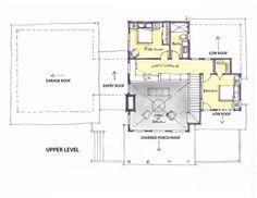 Mountain house upper level