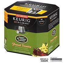 Green Mountain Coffee French Vanilla, K-Carafe Packs for Keurig 2.0 Brewers (24 ct.)