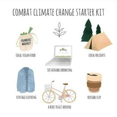 Your starter kit to combat climate change! Have these things and you'll make a huge difference for our planet. Save Mother Earth, Save Our Earth, Green Life, Sustainable Living, Sustainable Fashion, Conservation, Zero Waste, Eco Friendly, Planets