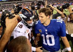 LISTEN: Eli Manning gives Peyton some advice on how to beat... #EliManning: LISTEN: Eli Manning gives Peyton some advice on… #EliManning