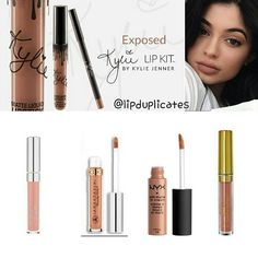 "Kylie ""Exposed"" dupes"