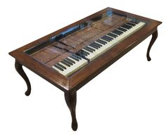 If you can find an old piano that is beyond repair - they're constantly being given away for free on Craigslist - and you have a few basic tools, you ...