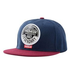 124252f496a Navy Blue Round Label Triangle Eye Baseball Snapback Caps Adjustable Cap Is  Unisex For Sports Yjc