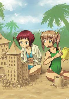 Katawa Shoujo - Rin and Emi