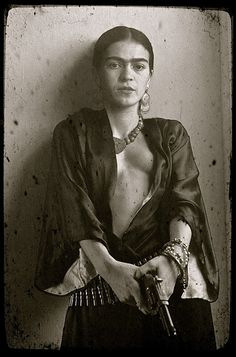 Frida Kahlo portrait rare
