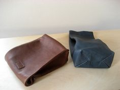 Leather Sack by Aging Inc.