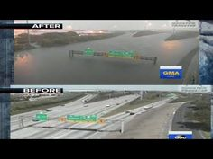 *Wow! Houston before and after the great flood! - YouTube