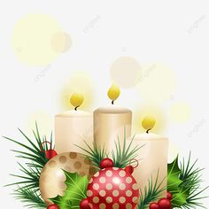 Christmas Advent White Glowing Candle, Christmas, Advent, White PNG Transparent Clipart Image and PSD File for Free Download