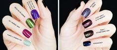 Top 8 OPI nail polish shades for fall