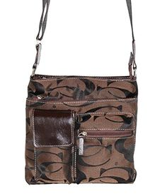 Concealed Carry Purse - Cross-body Gun Bag - Signature Concealment Purse - CCW - by Cleto - Brown Cleto http://www.amazon.com/dp/B00YLUSPO8/ref=cm_sw_r_pi_dp_CbDMvb159FRP8